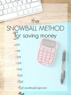 Many of us have heard of the Snowball Method for paying off debt. But how about using the same method for saving money?