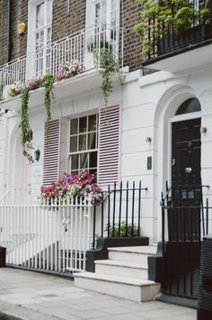 Townhouse in London (around the corner from Harrods)...