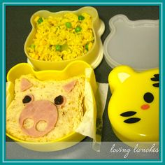 Loving Lunches: Tigers, Pandas & Icepacks. . . .Omai! (Giveaway update)