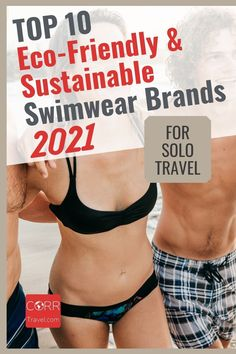 Choose sustainable travel products with any of these 10 best eco-friendly swimwear and sustainable swimwear brands for sustainable solo travel. Make great #TravelGiftIdeas! By @corrtravel #CORRTravel #TravelGifts #EcoFriendlyGifts Solo Travel Tips   Solo Female Travel Tips   Eco Friendly Travel Products   Sustainable Travel Products   Travel Products   Eco Friendly Travel Tips   Sustainable Travel Tips Solo Travel Tips, International Travel Tips, Travel Products, Swimwear Brands, Travel Design, Travel And Tourism, Travel Aesthetic, Trip Planning, Sustainability