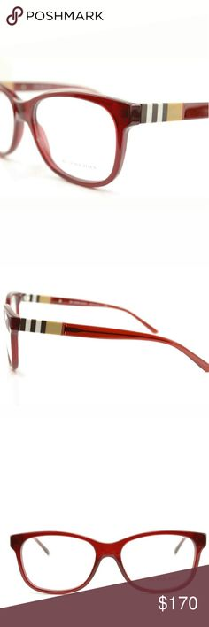 Burberry Eyeglasses New  52mm Case included Burberry Accessories Glasses