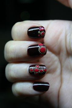 283 Best Nails Images On Pinterest Cute Nails Flower Nail Art And
