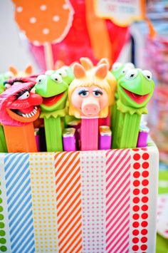 muppet themed inspired birthday party via Kara's Party Ideas- www.KarasPartyIdeas.com    http://karaspartyideas.com/2012/07/muppets-inspired-5th-birthday-party.html