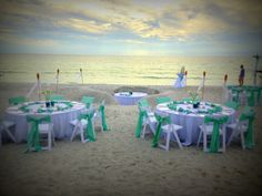 Beach Wedding! Sweetheart Booth Carved into the Sand! Lido Beach Resort in Sarasota, Florida