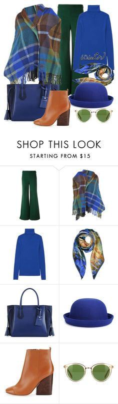 """sweater weather"" by aries13 ❤ liked on Polyvore featuring Tory Burch, Vivienne Westwood, Uniqlo, Longchamp, WithChic and Oliver Peoples"