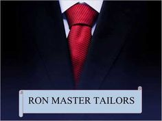 Ron Master Tailors is a tailoring shop which provides clothes like  shirts, pants, suits, tuxedos, trousers, coats etc for men and  ladies. With the experience of more than 30 years, today we are one of the best custom tailors in Singapore which provides clothes in finest fabric.