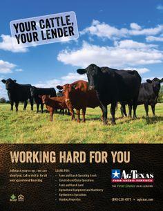 @Farm Credit Bank of Texas, AgTexas Farm Credit Services 2014 Ad Campaign  #farmcreditbankoftexas