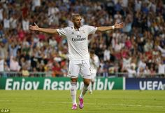 Karim Benzema must score goals on a regular basis if he wants to remain in Real Madrid's s...