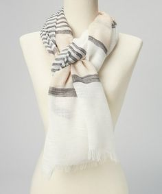 859b421c2f Another great find on  zulily! Sunny Side Up Stripe Scarf by Jessica  Simpson Collection