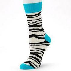 Zebra socks - TheFind