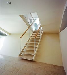 Attrayant Modern Pull Down Loft Stair