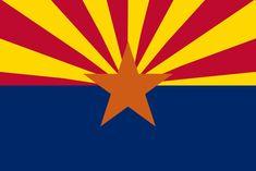 Arizona State Flag and Seal