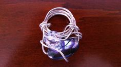 Silver Wire Trinket Charm by CreativeCultures on Etsy
