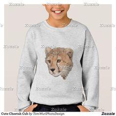 Cute Cheetah Cub Sweatshirt