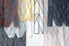 Kvadrat lanserar exklusiva gardiner av bröderna Bouroullec