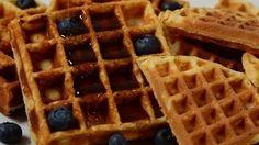 Waffles Recipe Demonstration - Joyofbaking.Com -- Watch Joy of Baking create this delicious recipe at http://myrecipepicks.com/5836/JoyofBaking/waffles-recipe-demonstration-joyofbaking-com/