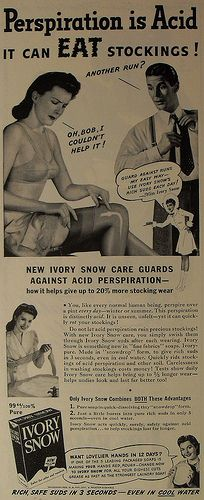 cool Ivory Snow vintage advertisement detergent by Christian Montone, via Flick. Vintage Humor, Vintage Ads, Vintage Prints, Vintage Posters, Weird Vintage, Funny Vintage, Vintage Stuff, Old Advertisements, Retro Advertising
