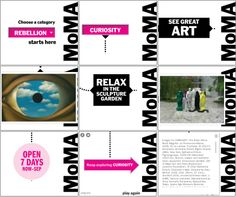 MoMA | Summer Starts Here RM Campaign - Alia Ormut Fleishman | Visual and Interactive Design