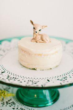 Little Deer First Birthday Party | The Little Umbrella