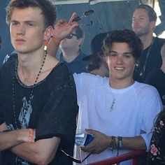 Tristan is like nope and Brad is like hey