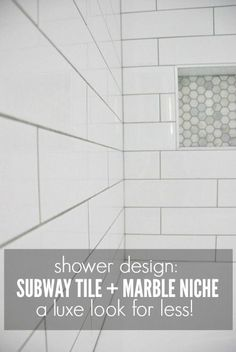 Marble Tile Bathroom Pictures try this: herringbone marble tile (a beautiful mess) | marble