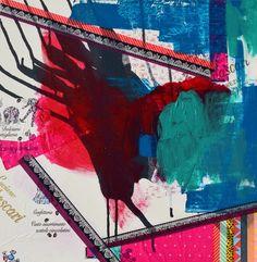 Vibrant Colors, Colours, Mark Making, Wearable Art, Design Inspiration, Canvas, Artist, Prints, Painting