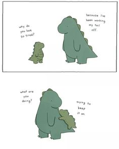 Tagged with Funny; Liz Climo Part 5 Sheldon The Tiny Dinosaur, Cute Dinosaur, Rory The Dinosaur, Dinosaur Pattern, Liz Climo Comics, Tierischer Humor, Funny Animals, Cute Animals, Humor Grafico