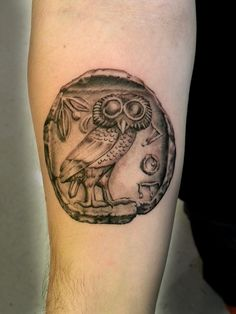 Ancient Greek Coin Tattoo                                                                                                                                                                                 More