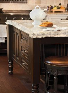 Island Countertop With Stove : 1000+ images about Gourmet Kitchen Selections on Pinterest Kitchen ...
