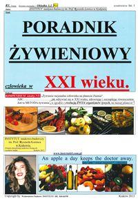 PORADNIK ŻYWIENIOWY CZŁOWIEKA W XXI WIEKU - Książki kucharskie - Avalon.pl