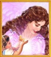 Angel Art - Guarding the Children