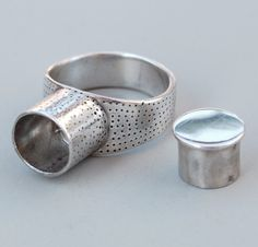 Senegalese Ring silver by BlindSpotJewellery on Etsy