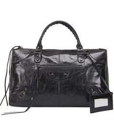066db5b36f9e Balenciaga Bag Grande Gigante in Black Leather Oil replica, sac a main en  cuir…