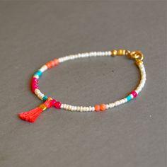 """Bracelet fantaisie fin """"Angela"""" perles de culture et pierres fines : Bracelet par kanakeis"""