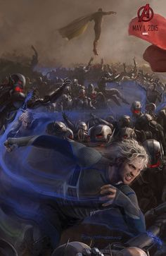 Avengers: Age of Ultron - Quicksilver