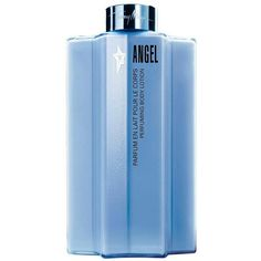 Mugler Angel Perfuming Body Lotion/7 oz. (€49) ❤ liked on Polyvore featuring beauty products, bath & body products, body moisturizers, thierry mugler perfume, thierry mugler, body moisturiser and body moisturizer