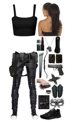 S.H.I.E.L.D. agent #10 by emma-directioner-r5er on Polyvore featuring Rick Owens, Masquerade, Puma, River Island, NARS Cosmetics, POLICE, women's clothing, women's fashion, women and female