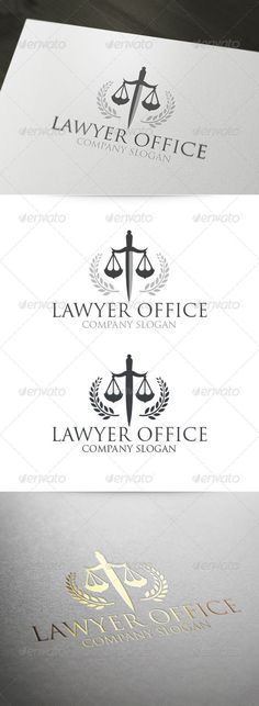 6 Mas Lawyer Logo Tattoo Business Card Design