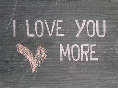 I Love You More Wall Art Wood Wall Art