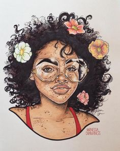 ✨ give me more board ideass black girl art, black women art, art girl, natu Black Love Art, Black Girl Art, Art Girl, Frida Art, Natural Hair Art, Black Art Pictures, Art Africain, Afro Art, Magic Art