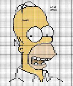 ENCANTOS EM PONTO CRUZ: Os Simpsons