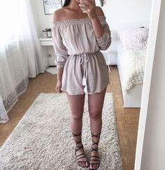 Pin by Jumpsuits and Romper on Jumpsuits and Romper in 2019 Teen Fashion Outfits, Outfits For Teens, Trendy Outfits, Outfit Goals, Everyday Outfits, Spring Outfits, Fashion Trends, Clothes, Rompers