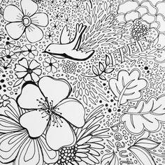 Sketching and doodling today #art #surfacepattern #pattern #mats #sketcheveryday