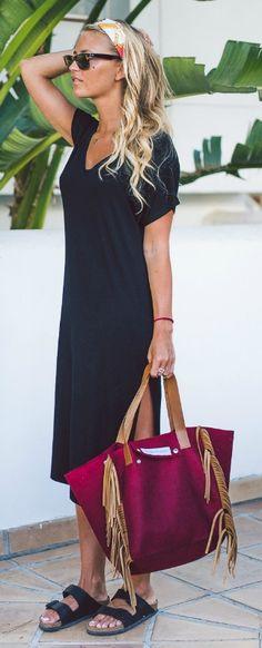 How to wear birkenstock sandals summer trends 40 ideas Chic Outfits, Dress Outfits, Summer Outfits, Summer Dresses, Bandana Outfit, Birkenstock Outfit, Summer Trends, 2017 Summer, Neue Trends
