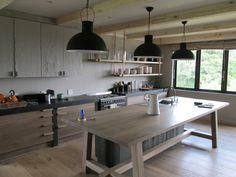 Greyed oak Kitchen Grey Oak, Kitchen Island, Kitchen Design, Kitchens, Home Decor, Island Kitchen, Decoration Home, Design Of Kitchen, Room Decor
