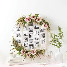 How To Make A Photo Wreath