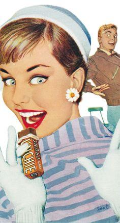 1957 Crunchie ad