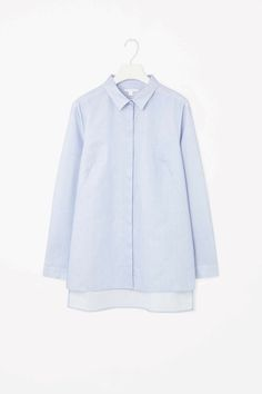COS | Micro-check cotton shirt