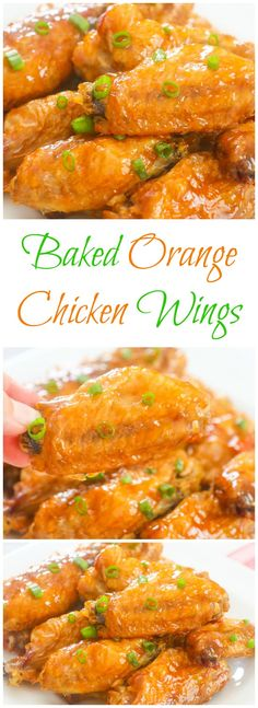 Baked Orange Chicken Wings! Orange chicken is even better in the form of wings.