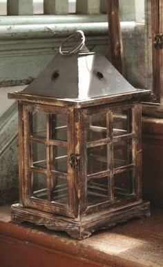 Homemade Wood Lanterns | Lantern Candle Holder